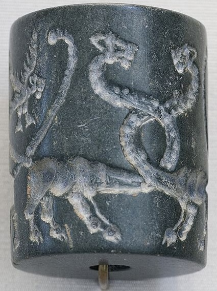 Entwined Dragons Uruk Seal