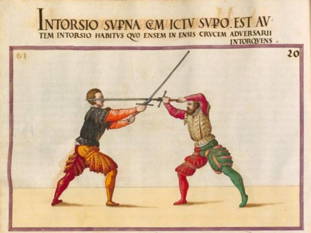 Opus Amplissimum de Arte Athletica folio 27v
